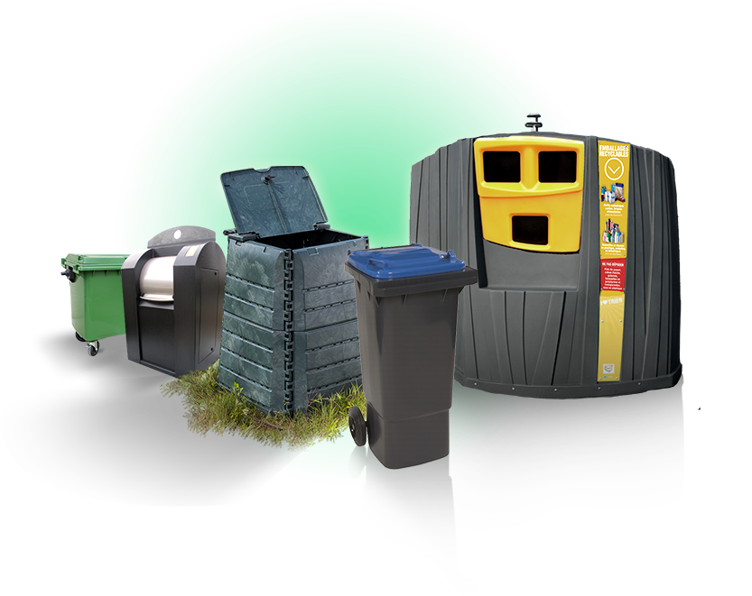 poubelles quadria