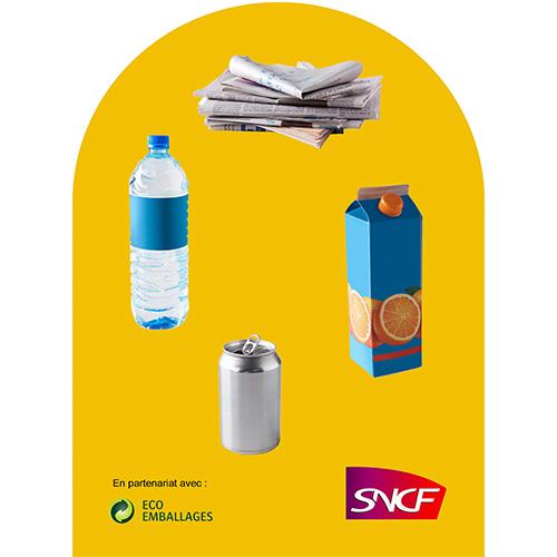 Eco emballage corbeille vigipirate Qualys