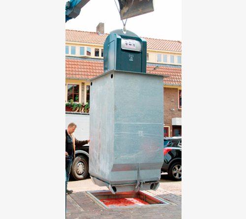 Installation conteneur enterré Quadria