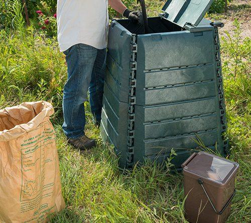 Sac de collecte Biogreen Quadria déchets verts