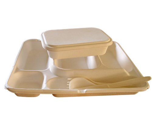 Vaisselle biodégradable Quadria